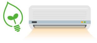 暖房消費電力 20〜40%削減